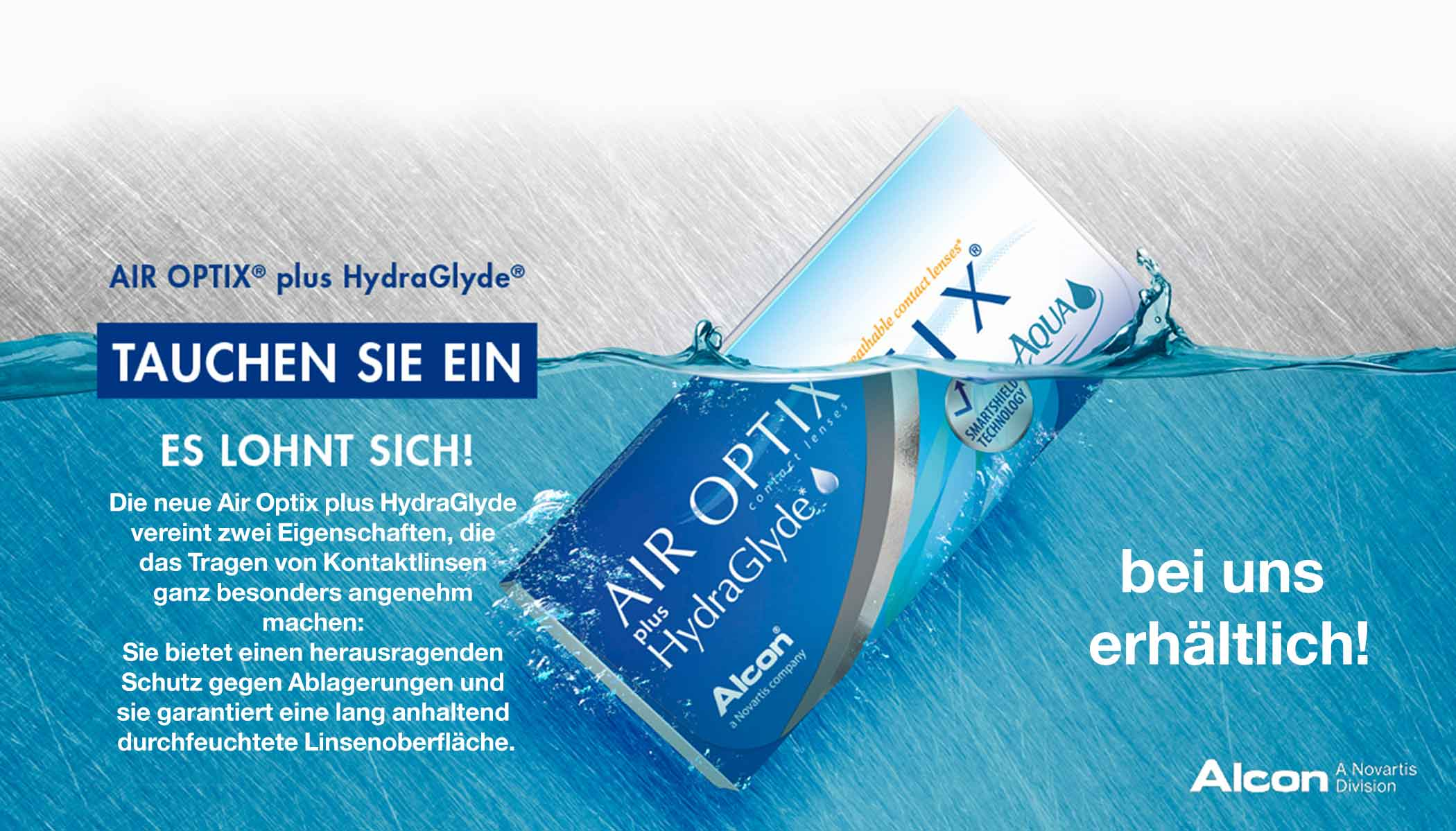 Air Optix plus HydroGlyde