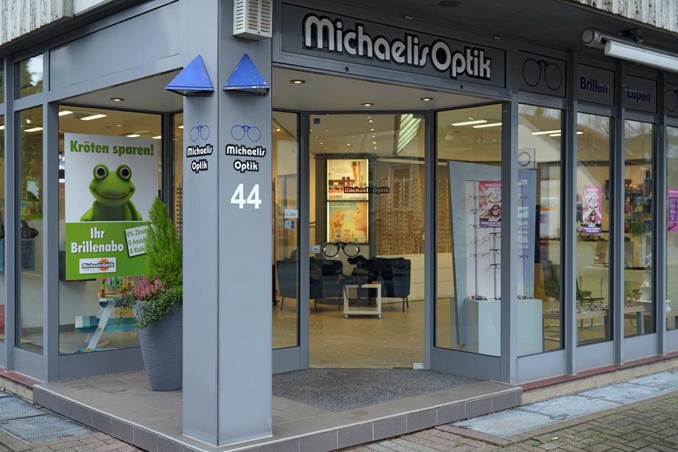 Geschäft Michaelis Optik